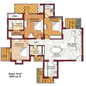 Floor Plan: SPR Imperial Estate